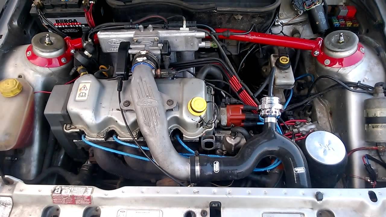 Ticking 1 6 Cvh Turbo Engine Youtube