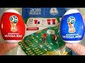 FIFA World Cup Russia 2018 32 Qualified Teams Surprise Eggs 3D Football Jerseys