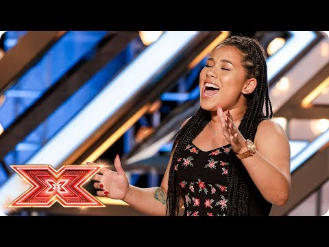 The Judges have got the love for Rwanda Shaw | Auditions Week 1 | The X Factor 2017 Mp3