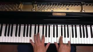 Tutorial piano y voz  Wonder of you (Elvis Presley)