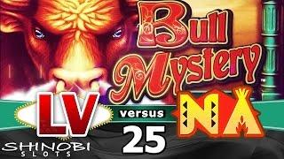 Las Vegas vs Native American Casinos Episode 25 Bull Mystery Slot Machine