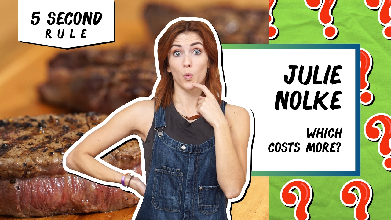 Challenge: Which is More Expensive? | 5 Second Rule with Julie Nolke