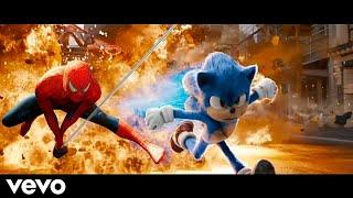SONIC \u0026 Spider-Man Chase - Believer