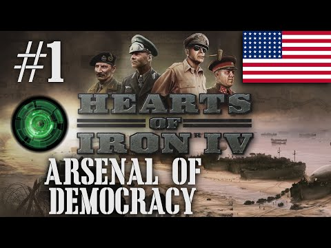 HOI4 Tutorial Stream [A US Let's Play for Hearts of Iron IV]