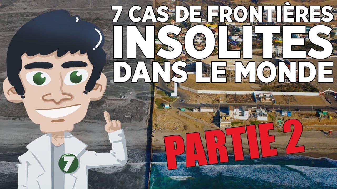 7 FRONTIÈRES INSOLITES DANS LE MONDE – partie 2