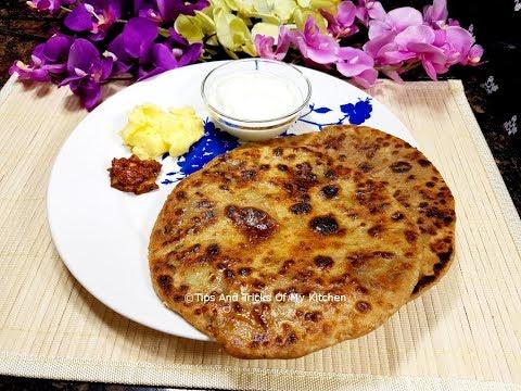 Aloo Paratha Recipe Punjabi Style | Aloo Ka Paratha Inspired By Sanjeev Kapoor And Nisha Madhulika