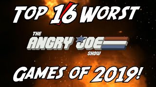 Top 16 WORST Games of 2019!