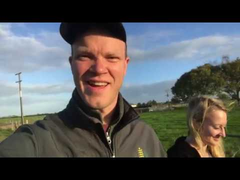 Vlog 4/12: Greg and BrookeAnna milk cows in New Zealand