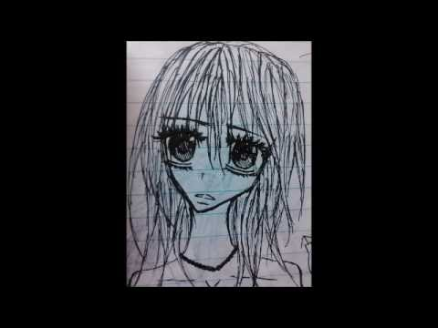 My Anime Drawings Then and Now