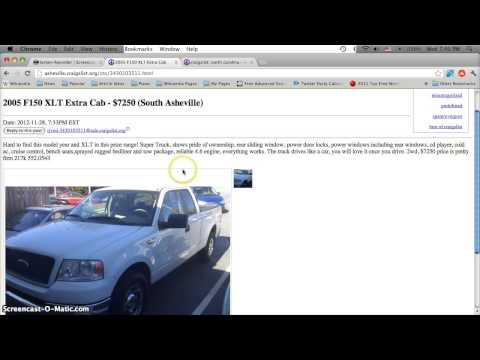 Craigslist North Carolina Used Cars for Sale by Owner
