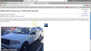 Craigslist Asheville NC Used Cars for Sale by Owner - Affordable Prices Under $1500 in Early 2013