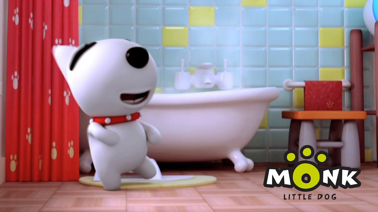 Monk | Banyo Yapmak - Çizgi Film
