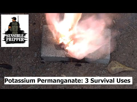 Potassium Permanganate  3 Excellent Survival Uses