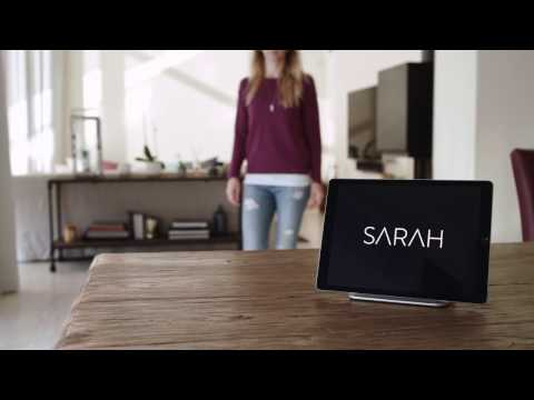 SARAH - Smart Home App - BOSA 2016 Video