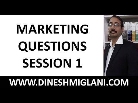 300 IMPORTANT MARKETING QUESTIONS SESSION 1 FOR IBPS/SBI PO