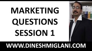 300 IMPORTANT MARKETING QUESTIONS SESSION 1 FOR IBPS/SBI PO EXAM