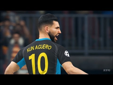 PES 2018 - Manchester City vs FC Basel - UEFA Champions League Gameplay (PS4 HD) [1080p60FPS]
