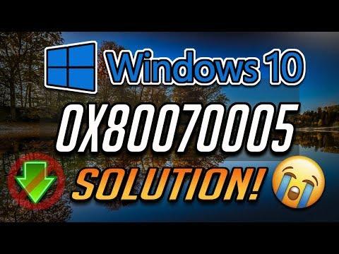 Fix Windows Update Error 0x80070005 In Windows 10 [2020 Tutorial]