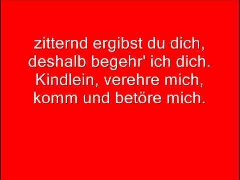 Stahlhammer - Weiss wie Schnee (Lyrics)