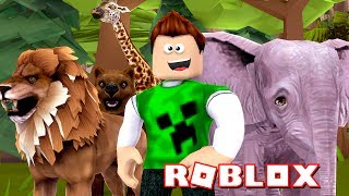 ROBLOX-ESCAPE from the ZOO!!