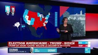 Élection américaine : le point sur la course à la Maison-Blanche