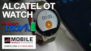 Alcatel One Touch Watch en el Mobile World Congress 2015!