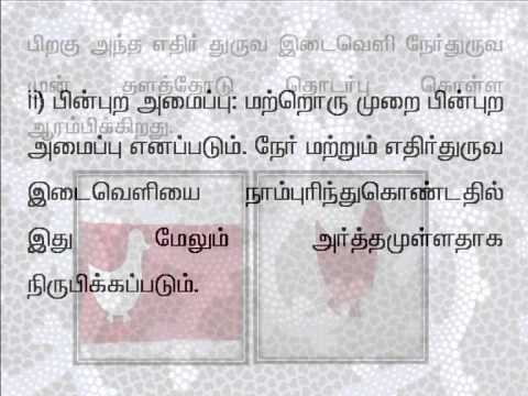 tamil 73 Interaction of positive and negative designs