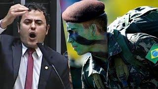 Exército é convocado e deputados esquerdistas dão chilique no plenário