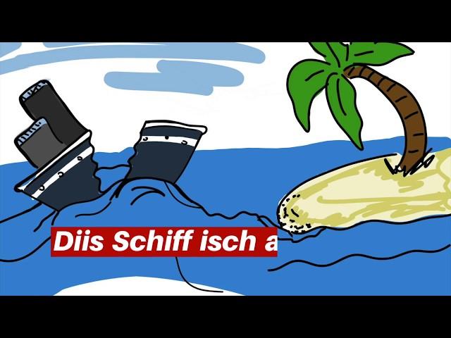 Swiss German conversation game.