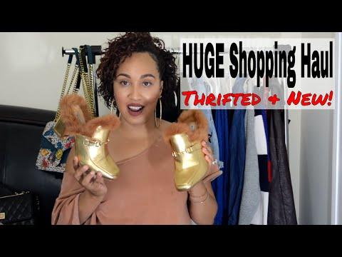HUGE thrift Haul! | DISCOUNT SHOPPING GUIDE | Poshmark & More! | 2017