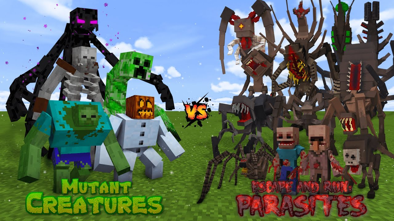 MUTANT CREATURES vs PARASITES!