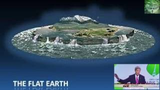 Flat Earth - The Sun and its path summer and winter