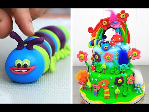 Thumbnail: TROLLS CAKE How To Make by Cakes StepbyStep