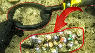 Stolen or Lost?! - Unbelievable finds with Metal Detector (Treasure Hunting Underwater)
