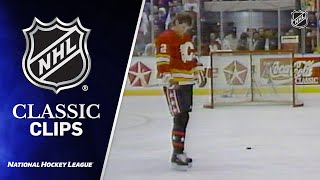 First-Ever Hardest Shot Competition (1990) | NHL All-Star Weekend