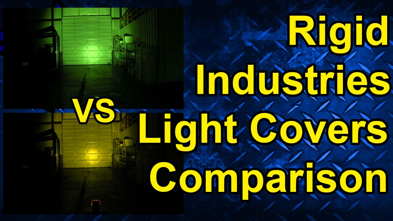 Rigid Industries LED Light Cover Comparison  sc 1 st  YouTube & Rigid Industries LED Light Cover Comparison - YouTube azcodes.com