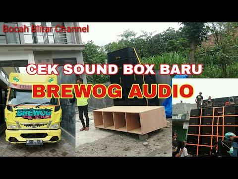 Brewog Cek Sound Box Baru Di Markas