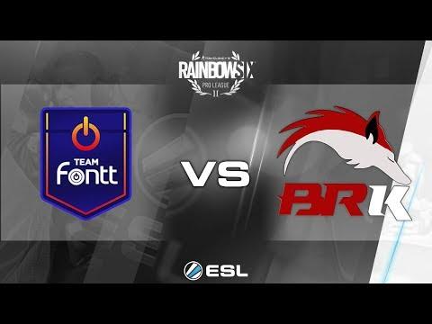Rainbow Six Pro League - Season 2 - PC - LATAM - Team Fontt vs. BRK E-Sports - Week 7