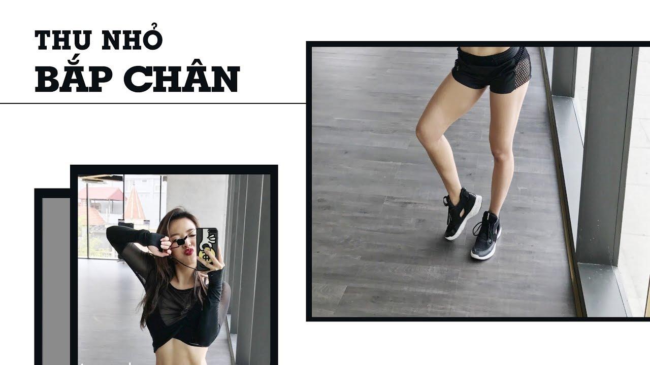 Bài tập thu nhỏ bắp chân (All level) | Hana Giang Anh | Workout #77