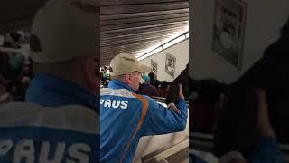 ЧП на станции метро в Риме: давка из-за сломанного эскалатора