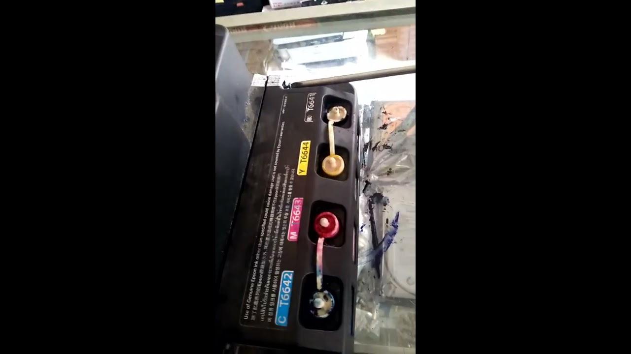 Cara Membongkar Printer Epson L120 Letak Baut Youtube