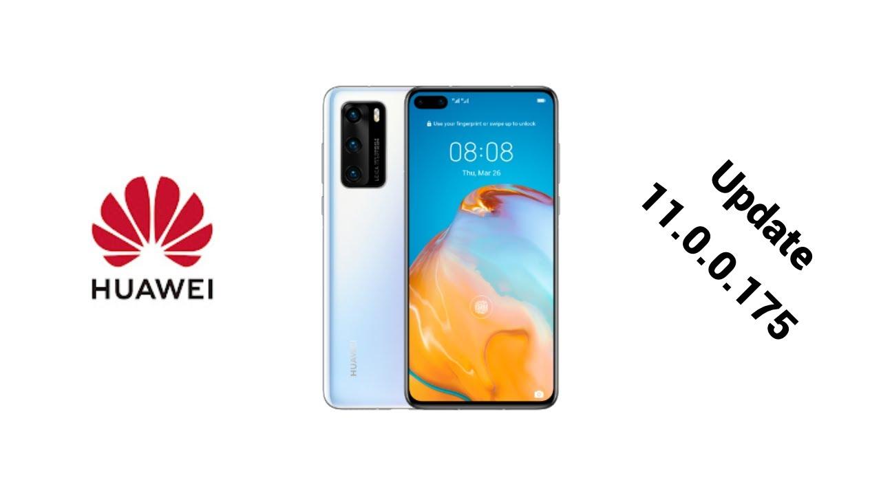 Huawei P40 update 11.0.0.175 | EMUI 11.1 on horizon