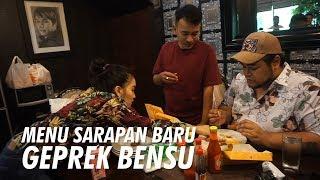Download Video The Onsu Family - Ada Menu Sarapan Baru di Geprek Bensu Lho.. MP3 3GP MP4