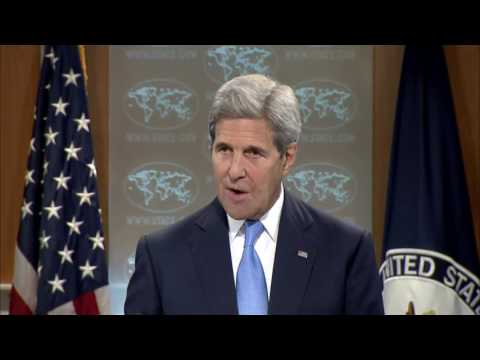 Secretary Kerry on Latest Developments in Syria