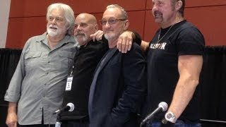 HORROR ICONS Q & A PANEL (FREDDY, JASON, LEATHERFACE & MICHAEL MYERS) 2013 ROCK & SHOCK HORROR CON