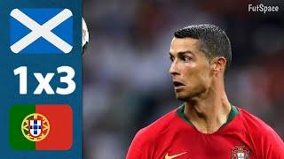 Escócia 1 x 3 Portugal - Melhores Momentos e Gols - HD