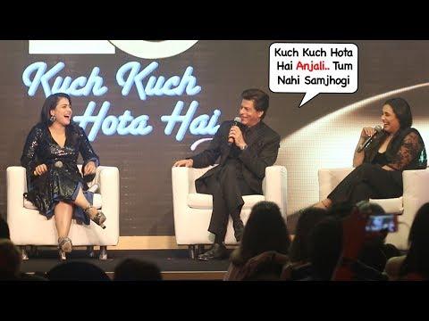 Shahrukh Khan,Kajol & Rani Mukherjee's Kuch Kuch Hota Hai Reunion Complete Video HD