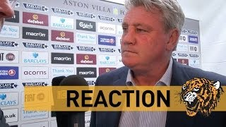 Aston Villa v Hull City | Reaction With Steve Bruce