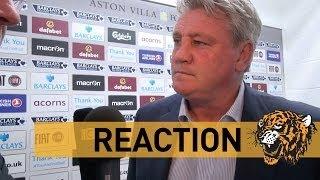 Aston Villa v Hull City   Reaction With Steve Bruce