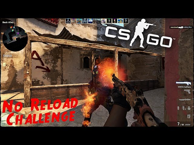 CS:GO Competitive #9 No Reload Challenge!:o